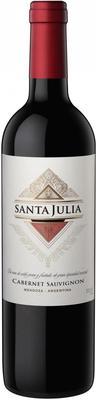 Вино красное сухое «Santa Julia Cabernet Sauvignon» 2015 г.