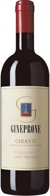 Вино красное сухое «Gineprone Chianti» 2013 г.