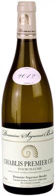 Вино белое сухое «Domaine Seguinot-Bordet Chablis 1er Cru Fourchaume, 0.375 л» 2012 г. с защищенным географическим указанием