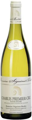 Вино белое сухое «Domaine Seguinot-Bordet Chablis 1er Cru Fourchaume, 0.75 л» 2014 г. с защищенным географическим указанием