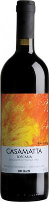 Вино красное сухое «Casamatta Rosso »