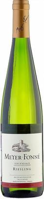Вино белое сухое «Meyer Fonne Riesling» 2015 г. с защищенным географическим указанием