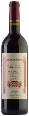 Вино красное сухое  «Richelieu Rouge» 2013 г.
