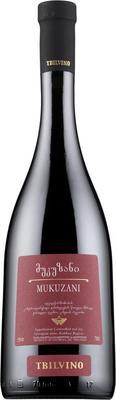 Вино красное сухое «Tbilvino Mukuzani» 2012 г.