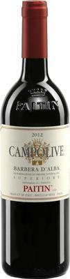 Вино красное сухое «Paitin Campolive Barbera D'Alba» 2012 г. с защищенным географическим указанием