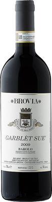 Вино красное сухое «Brovia Garblet Sue» 2009 г. с защищенным географическим указанием