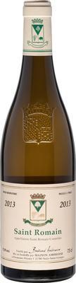 Вино белое сухое «Maison Ambroise Saint Romain Blanc sec» 2013 г.