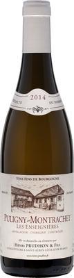 Вино белое сухое «Domaine Henri Prudhon & Fils Puligny-Montrachet les Enseignieres Blanc sec» 2014 г.