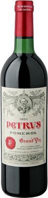 Вино красное сухое «Chateau Petrus» 1986 г.