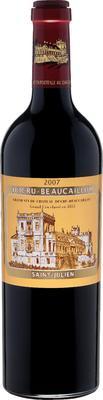Вино красное сухое «Ducru-Beaucaillou Grand Cru Classe Medoc» 2007 г.