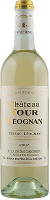 Вино белое сухое «Chateau Tour Leognan 2-em vin Chateau Carbonnieux» 2007 г.