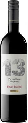 Вино красное полусухое  «Winzer Krems Sandgrube 13 Blauer Zweigelt» 2014 г.