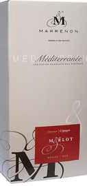 Вино красное сухое «Merlot Mediterane» 2013 г.