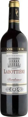 Вино красное сухое «Labottiere Bordeaux» 2014 г.