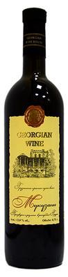 Вино красное сухое «Дом Грузинского Вина Мукузани» с защищенным географическим указанием