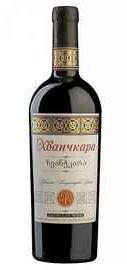 Вино красное полусладкое «Дом Грузинского Вина Хванчкара» с защищенным географическим указанием