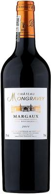 Вино красное сухое «Chateau Mongravey» 2011 г. с защищенным географическим указанием