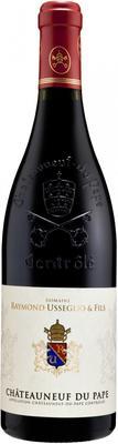 Вино красное сухое «Domaine Usseglio Raymond & Fils Rouge» 2013 г. с защищенным географическим указанием