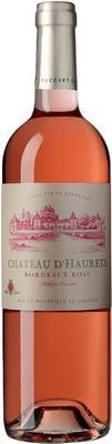 Вино розовое сухое «Chateau d'Haurets Bordeaux» 2015 г.