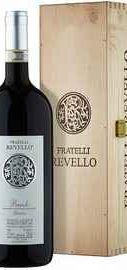 Вино красное сухое «Fratelli Revello Vigna Giachini» 2010 г. с защищенным географическим указанием в подарочной упаковке