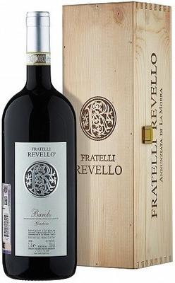 Вино красное сухое «Fratelli Revello Vigna Giachini» 2009 г. с защищенным географическим указанием в подарочной упаковке