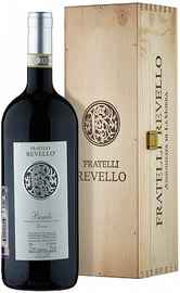Вино красное сухое «Fratelli Revello Vigna Conca» 2009 г. с защищенным географическим указанием в подарочной упаковке