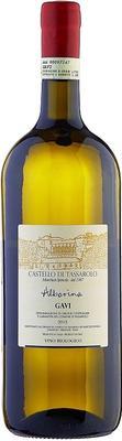 Вино белое сухое «Castello di Tassarolo Alborina, 1.5 л» 2013 г. с защищенным географическим указанием
