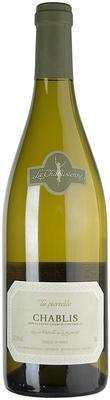 Вино белое сухое «Chablis La Pierrelee, 0.375 л» 2013 г.
