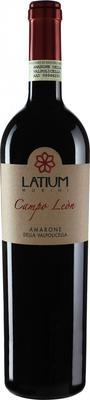 Вино красное сухое «Latium Morini Campo Leon Amarone della Valpolicella» 2009 г. с защищенным географическим указанием