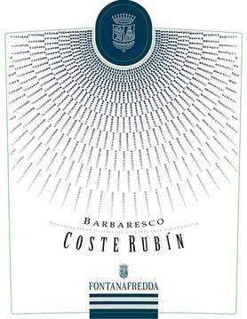 Вино красное сухое «Fontanafredda Coste Rubin Barbaresco» 2006 г.