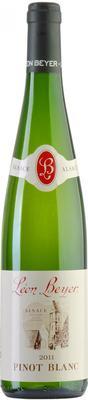 Вино белое сухое  «Leon Beyer Pinot Blanc Alsace» 2011 г.