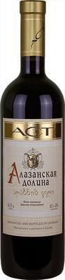 Вино красное полусладкое «ACT Алазанская долина красное»