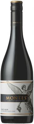 Вино красное сухое  «Montes Limited Selection Pinot Noir» 2014 г.