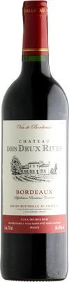 Вино красное сухое «Chateau de Deux Rives Bordeaux» 2014 г.