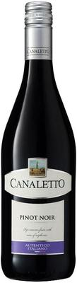 Вино красное сухое «Canaletto Pinot Noir» 2013 г.