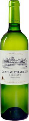 Вино белое сухое «Chateau d'Haurets Bordeaux» 2014 г.