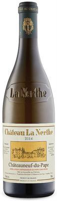 Вино белое сухое «Chateau la Nerthe Blanc» 2014 г.
