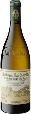 Вино белое сухое «Chateau la Nerthe Clos De Beauvenir» 2012 г.