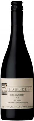 Вино красное сухое  «Torbreck Old Vines Grenache-Shiraz-Mourvedre» 2011 г.