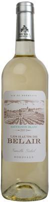 Вино белое сухое «Les Hauts de Bel Air Blanc» 2013 г. с защищенным географическим указанием