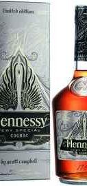 Коньяк французский «Hennessy VS Limited Edition by Scott Campbell» в подарочной упаковке