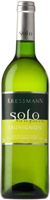 Вино белое сухое  «Kressmann Solo Sauvignon d'Oc» 2013 г.