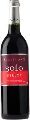 Вино красное сухое  «Kressmann Solo Merlot» 2013 г.