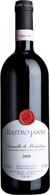 Вино красное сухое «Mastrojanni Brunello di Montalcino» 2009 г.