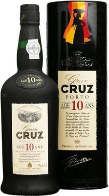 Портвейн «Porto Cruz 10 Years» в подарочной упаковке