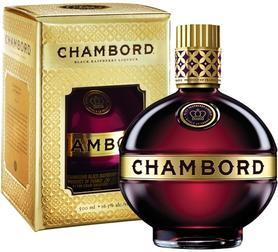 Ликер «Brown Forman Chambord» в подарочной упаковке