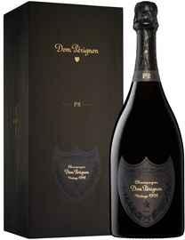 Шампанское белое брют «Dom Perignon P2» 1998 г. в подарочной упаковке