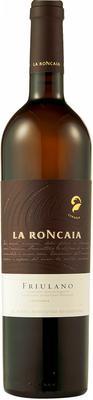 Вино белое сухое «La Roncaia Friulano» 2012 г. с защищенным географическим указанием
