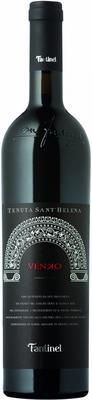 Вино красное сухое «Fantinel Tenuta Sant'Helena Venko» с защищенным географическим указанием