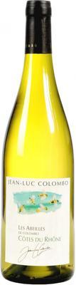 Вино белое сухое «Cotes du Rhone Les Abeilles de Colombo» 2012 г.